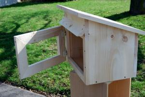 Shed-style Little Library