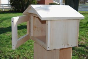 Gable-style Little Library